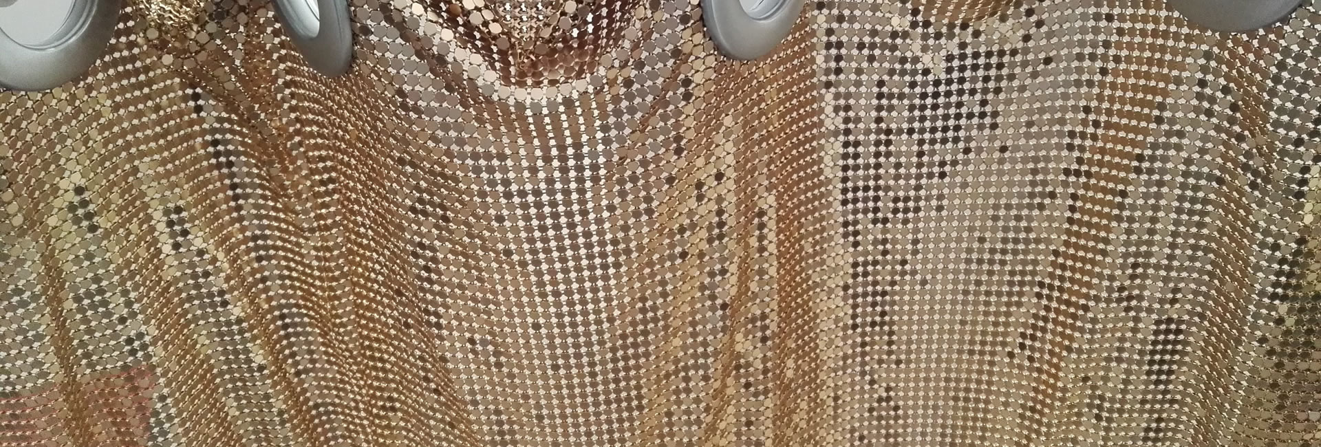 metal mesh curtain for home and commercial decoration