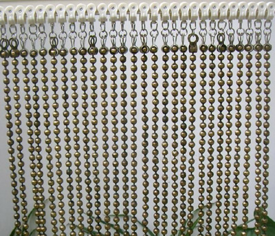 Ball Chain Curtain As Curtain For Decoration